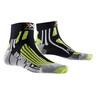 X-Socks Run Speed Two Skarpetki do biegania Mężczyźni zielony/czarny